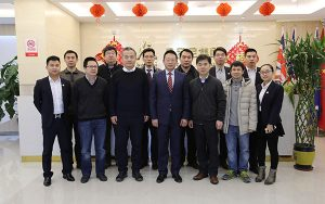 The representatives of Life Sciences College of Nankai University visited Beroni Group