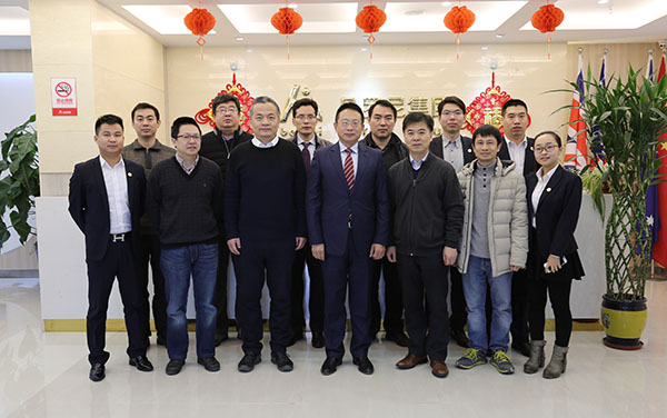 The representatives of Life Sciences College of Nankai University visited Beroni Group