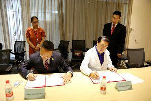 Beroni Signed Agreements with Beijing Youlian ENT Hospital