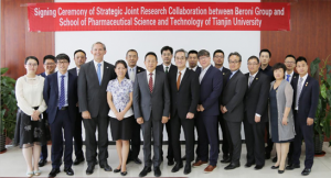 Strategic Joint Research Collaboration between Beroni Group and School of Pharmaceutical Science and Technology of Tianjin University