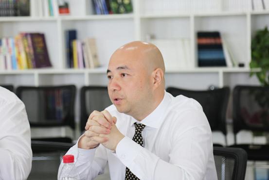 Dr. Qian Chen presenting Beroni's project in Zhengzhou