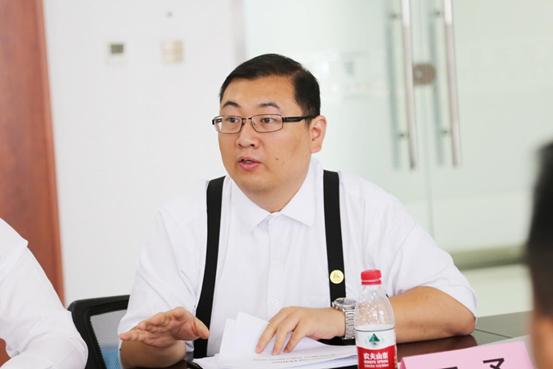 Dr. Yu Wang introducing PENAO project