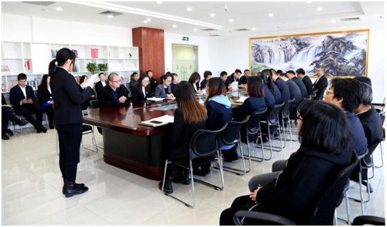 Beroni China's 2019 Work Summary Meeting site