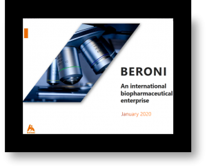 Beroni Group Announces Webcast from Biotech Showcase™ 2020 in San Francisco, USA
