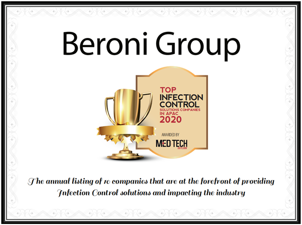 Beroni Group Named as a Top Infection Control Solutions Company in APAC for 2020